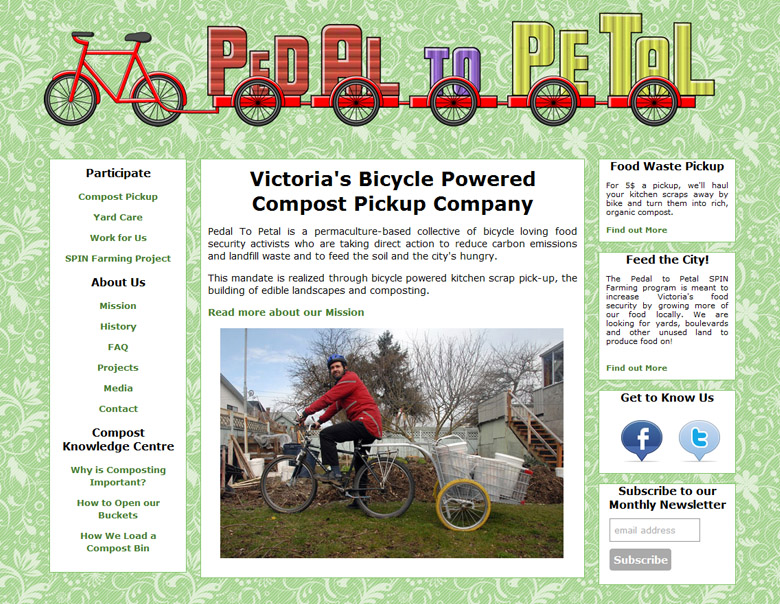 Pedal to Petal Compost